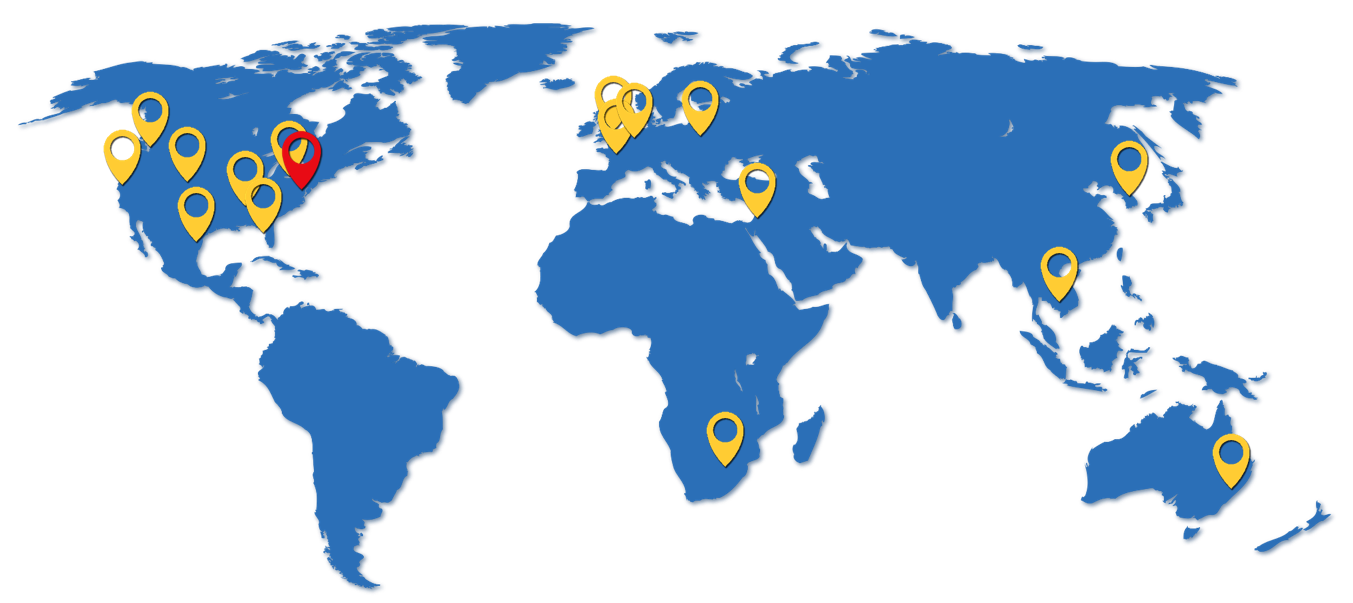 The Spectrum Group Global Office Map Contact