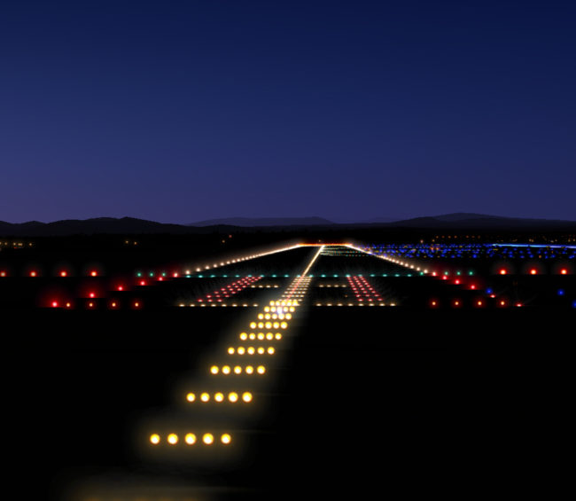 Runway Lighting Case Study The Spectrum Group