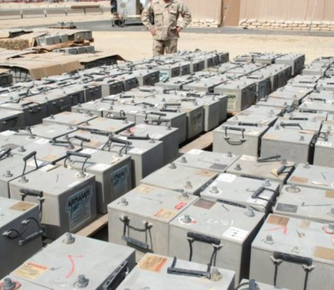 Army Tank Batteries Case Study The Spectrum Group
